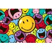 Smiley World Smiles and Laughs Kids Rug