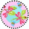 <strong>Jade Reynolds Dragonfly Kids Rug</strong> by Fun Rugs