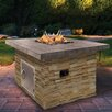 CalFlame Natural Stone Propane Gas Fire Pit