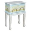 <strong>Shoreline Betsy's Sandpipers End Table</strong> by Gail's Accents