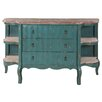 <strong>Gail's Accents</strong> Cottage Shaped Credenza