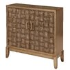 """Gail's Accents """"ETC""""  Golden Woven Credenza"""