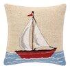 Peking Handicraft INC. Sailboat Hook Pillow