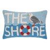 Peking Handicraft INC. The Shore Seagull Hook Pillow