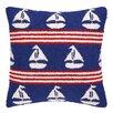 Peking Handicraft INC. Sailboats Hook Pillow