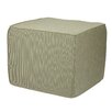 Mozaic Company Sunbrella Textured Indoor/Outdoor Ottoman
