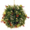 "<strong>Wintry Pine Pre-Lit 16"" Kissing Ball</strong> by National Tree Co."