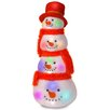 National Tree Co. Tower of Snowman Heads Christmas Decoration