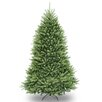 National Tree Co. Dunhill Fir 7' Hinged Green Artificial Christmas Tree and Stand