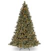 <strong>Glittery Bristle Pine 7.5' Green Artificial Christmas Tree with 750...</strong> by National Tree Co.