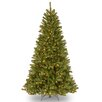 National Tree Co. North Valley Spruce 7.5' Green Christmas Tree with 550 Clear Lights and Stand