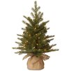 National Tree Co. Nordic Pre-Lit Feel Real Spruce Small Tree