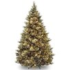 <strong>Carolina Pine 8' Hinged Green Artificial Christmas Tree with 800 Cl...</strong> by National Tree Co.