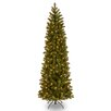 National Tree Co. Douglas 7.5' Green Fir Artificial Christmas Tree with 350 Clear Lights and Stand