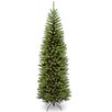 National Tree Co. 7.5' Green Pencil Kingswood Fir Artificial Christmas Tree with Stand