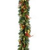 "National Tree Co. Pre-Lit 9' x10"" Classical Garland"