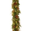 "National Tree Co. Pre-Lit 6' x 12"" Juniper Mix Pine Garland"