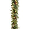 National Tree Co. Colonial Pre-Lit Feel-Real Garland with 50 Clear Lights