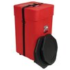 Molded PE Upright Drum Accessory Case with Foam