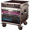 <strong>Slant Top Rack Base with Casters, for Console Audio Rack</strong> by Gator Cases