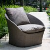 Spinner Low Armchair with Cushion