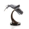 SPI Home Cachalot Whale and Calf on Ribbon Figurine