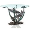 SPI Home Dolphin Duet Coffee Table