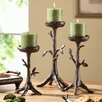 SPI Home 3 Piece Twig Coll Pillar Candlestick