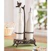 SPI Home Twig Coll Oil and Vinegar Bottle Set