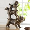 SPI Home Dog Trio Figurine