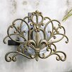 <strong>Fleur de Lis Aluminum Iron Hose Holder</strong> by SPI Home