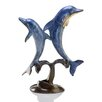 SPI Home Double Jumping Dolphins Figurine