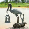 SPI Home Spoonbill Lantern Statue