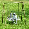 <strong>SPI Home</strong> Frogs on Porch Swing Garden Statue