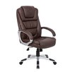 <strong>High-Back Executive Office Chair with Lumbar Support</strong> by Boss Office Products