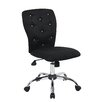Boss Office Products Tiffany Mid-Back Task Chair with Tufted Back