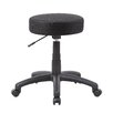 Boss Office Products Height Adjustable Stool with Double Wheel Caster
