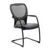 Boss Office Products Mesh Guest Chair with Arms
