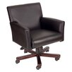 Boss Office Products Caressoft Mid-Back Executive Chair with Box Arms