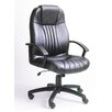 <strong>Modern High-Back Leather Executive Chair</strong> by Boss Office Products