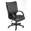 <strong>Modern Mid-Back Leather Plus Executive Chair</strong> by Boss Office Products