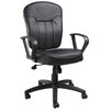 <strong>Leather Mid-Back Armless Chair</strong> by Boss Office Products