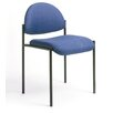 <strong>Boss Office Products</strong> Contemporary Armless Fabric Stackable Chair
