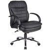 <strong>Boss Office Products</strong> Deluxe Mid-Back Managerial Chair