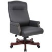 <strong>Traditional High-Back Executive Chair</strong> by Boss Office Products