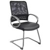 <strong>Mesh Guest Chair with Loop Arms</strong> by Boss Office Products