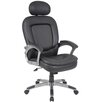 <strong>Boss Office Products</strong> High-Back Executive Chair with Padded Headrest