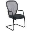 Boss Office Products Mesh Guest Chair with Cantilever Sled Base