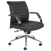 <strong>Boss Office Products</strong> Mid-Back Executive Chair with Arms