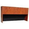 "Boss Office Products Case Goods 36"" H x 71"" W Desk Hutch"